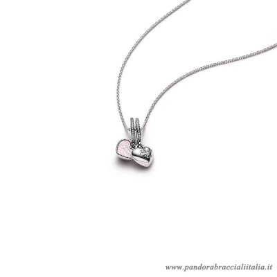 Rivenditori Pandora Best Friends Pendant And Necklace